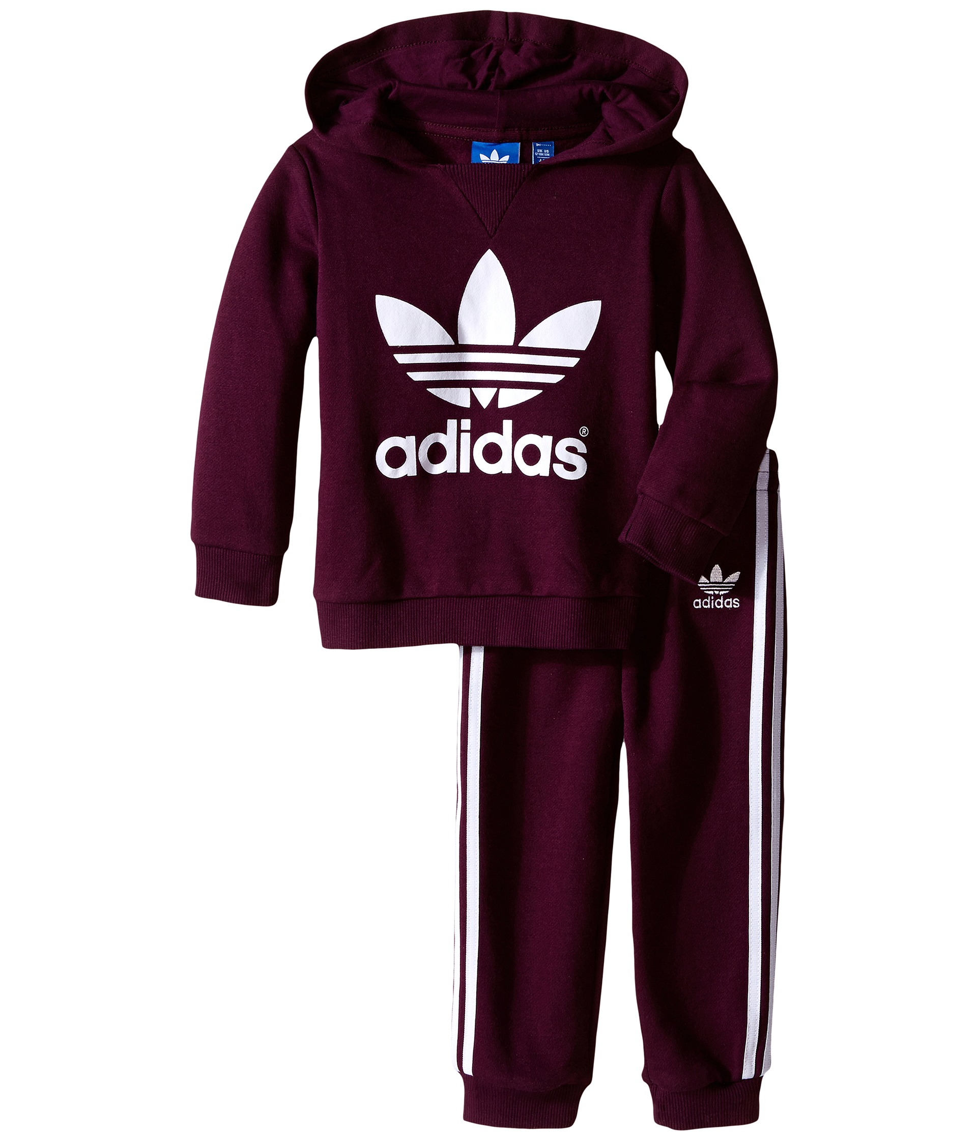 Adidas Originals Kids Trefoil Set (Infant/Toddler) - Zappos.com Free Shipping BOTH Ways