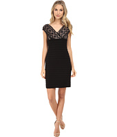 Adrianna Papell - Lace Banded Dress