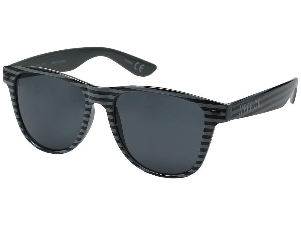 Neff Daily Shades Basic Black Sport Sunglasses