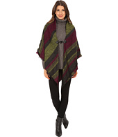 Echo Design - Meadow Stripe Poncho Shawl