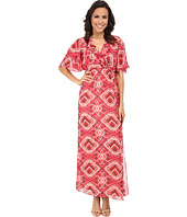 KUT from the Kloth - Kimono Maxi Dress w/ Surplice Bodice