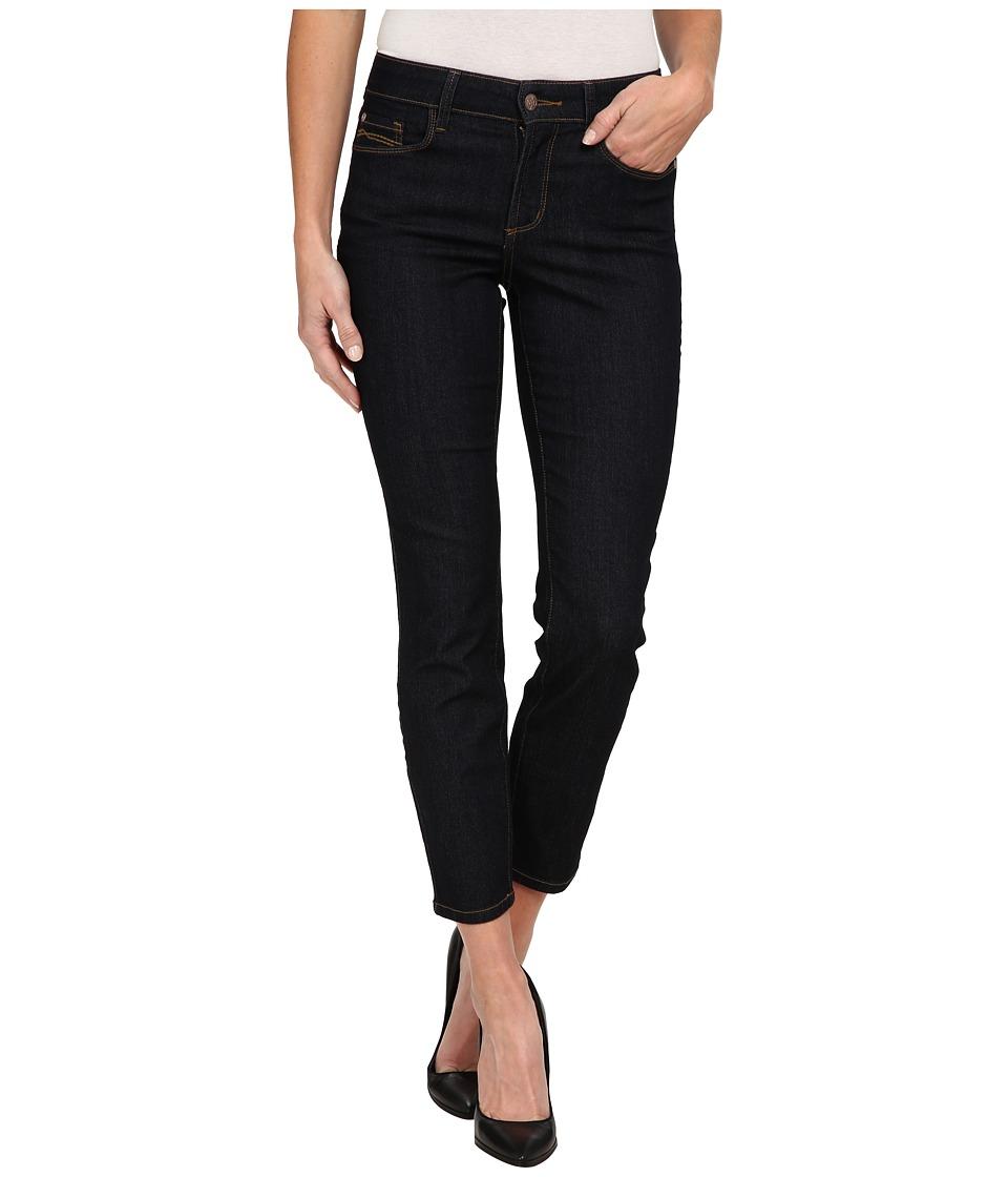 NYDJ - Clarissa Ankle in Dark Enzyme (Dark Enzyme) Womens Jeans