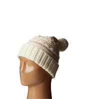 LAUREN by Ralph Lauren - Multi Texture Cuff Hat w/ Pom