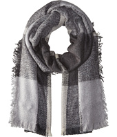 LAUREN by Ralph Lauren - Mohair Blanket Plaid Scarf