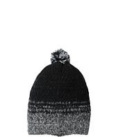 LAUREN by Ralph Lauren - Mohair Dipped Aran Hat w/ Pom