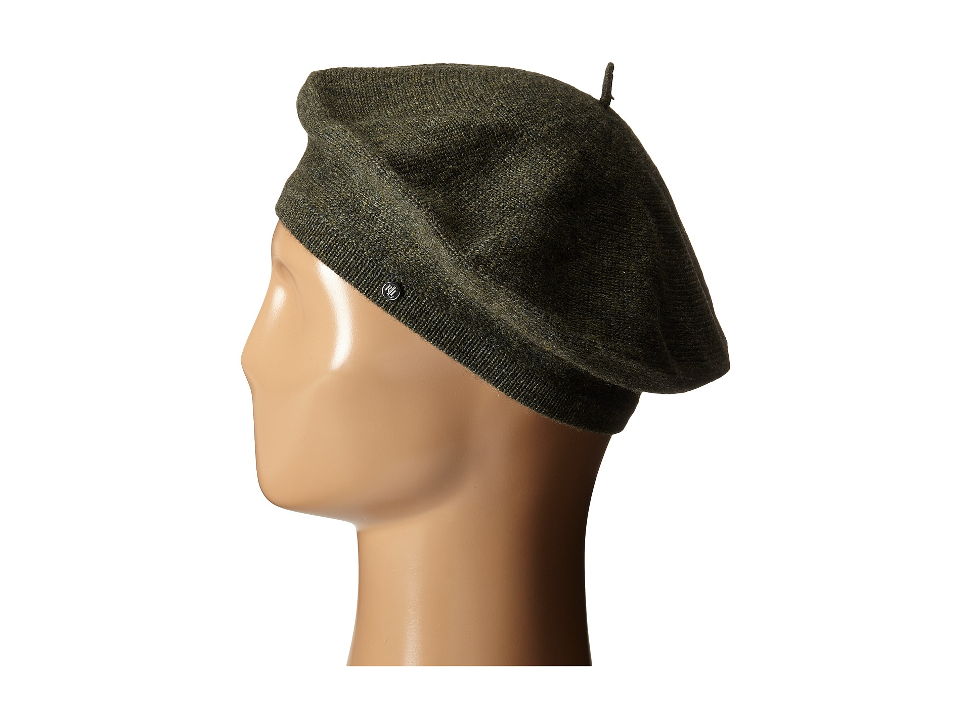 LAUREN by Ralph Lauren Cashmere Beret - Zappos.com Free Shipping BOTH Ways