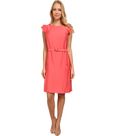 Anne Klein - Silk Like Flutter Sleeve Dress