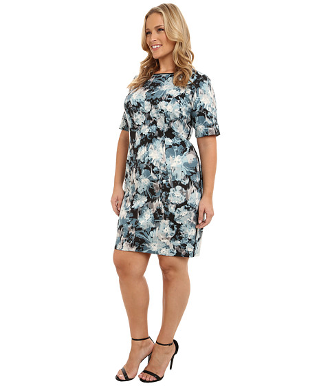 Show off the classy look of the London Times™ dress. Poly-blend ...