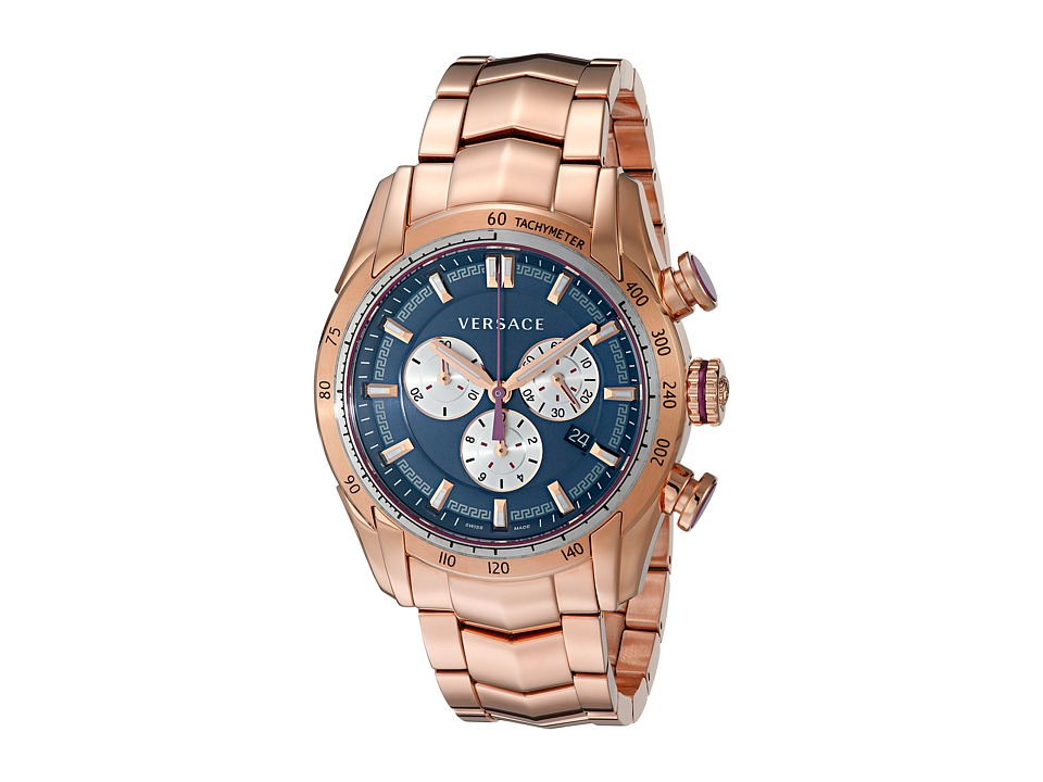 Versace V Ray VDB06 0015 Rose Gold Watches