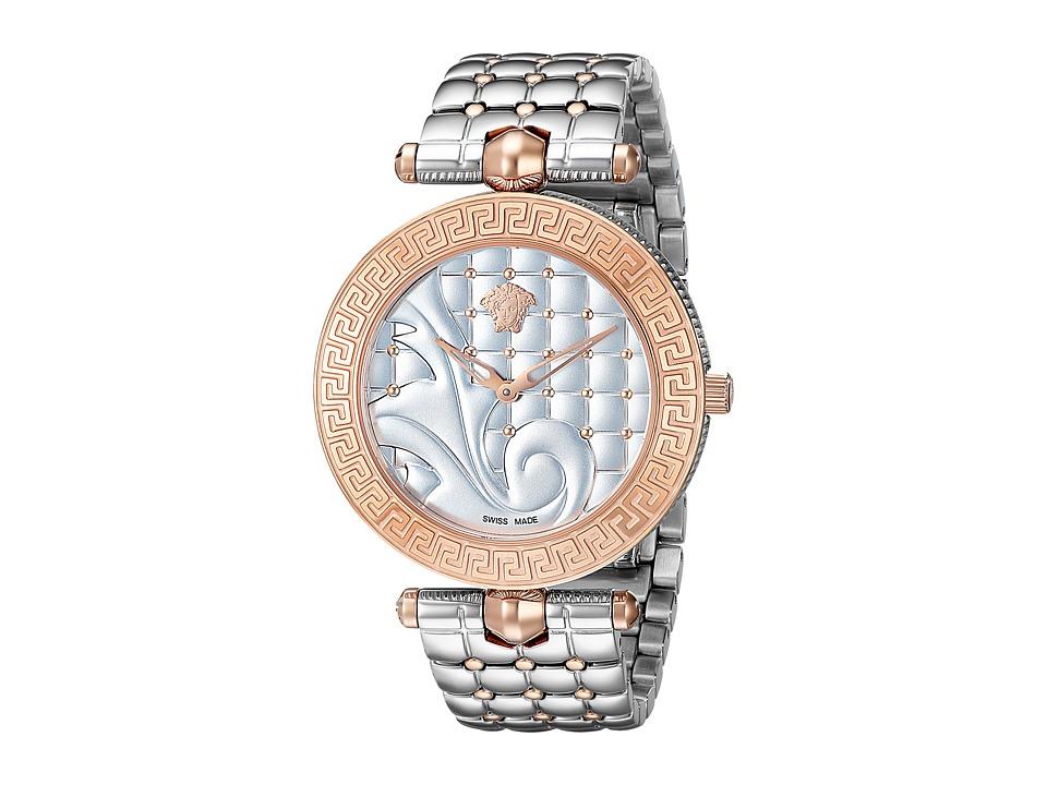 Versace Vanitas VK723 0015 Stainless Steel/Rose Gold Watches