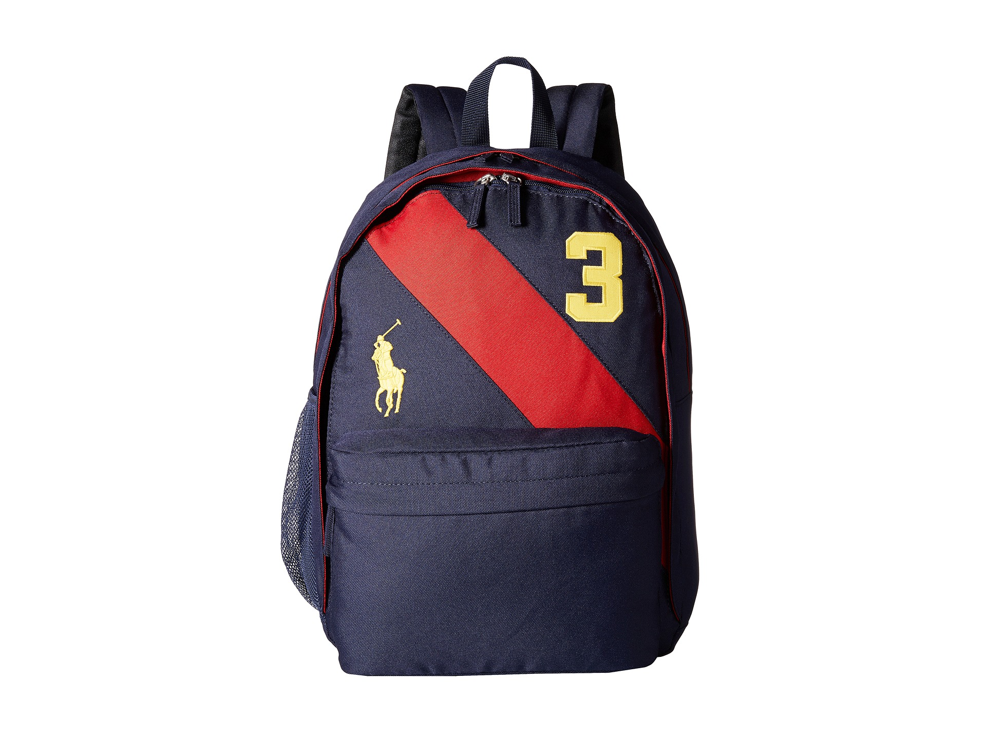 Polo Ralph Lauren Kids Banner Stripe II Large Backpack