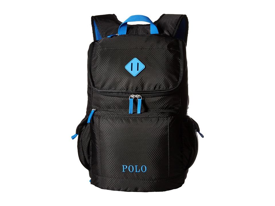 Polo Ralph Lauren Kids Felixstow Backpack Black/Royal Pop Backpack Bags