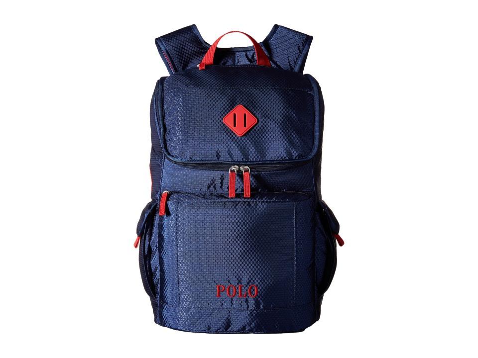 Polo Ralph Lauren Kids Felixstow Backpack Navy/Red Pop Backpack Bags