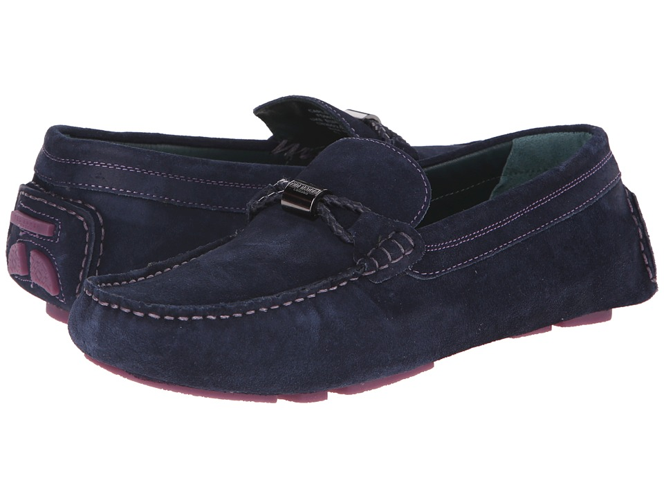 Ted Baker Carlsun (Dark Blue Suede) Men