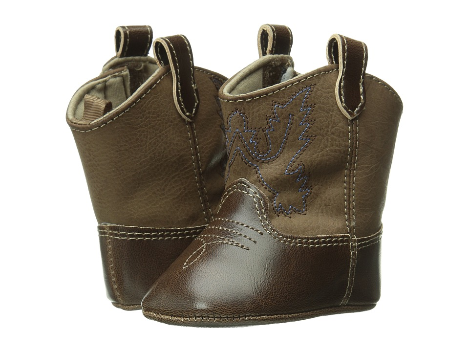 Baby Deer Western Boot Infant Brown Cowboy Boots