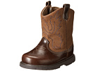 Baby Deer Western Boot (Infant/Toddler/Little Kid) (Brown)