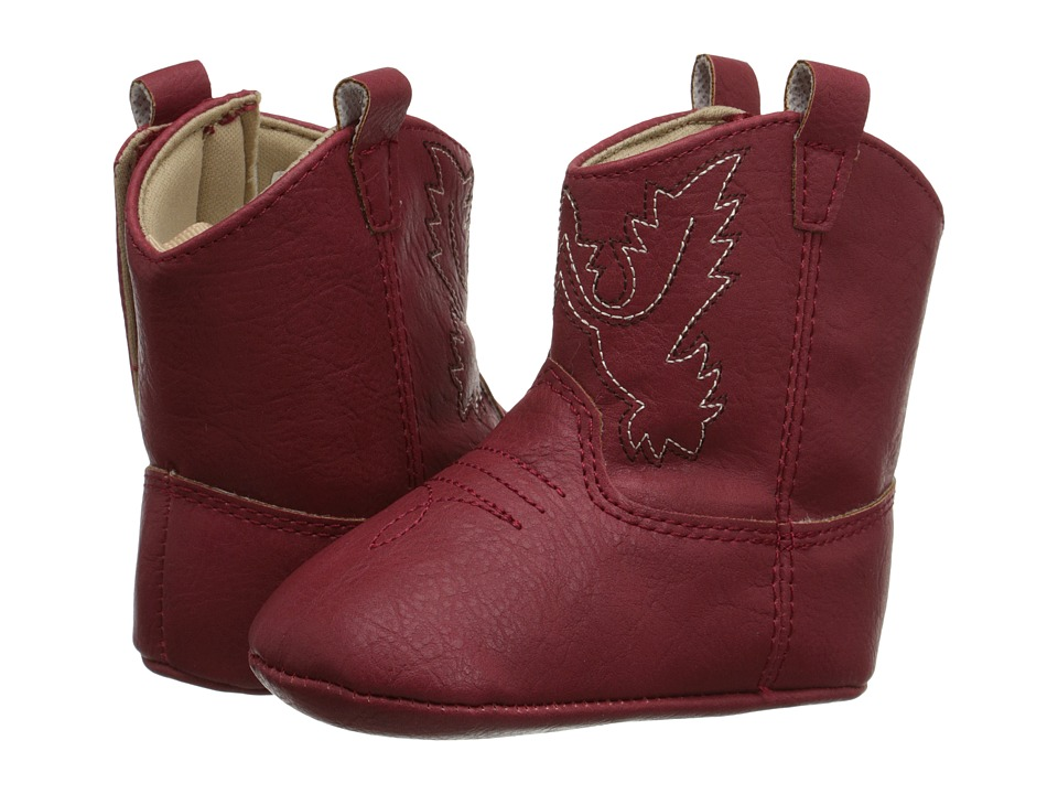 Baby Deer Western Boot Infant Red Cowboy Boots