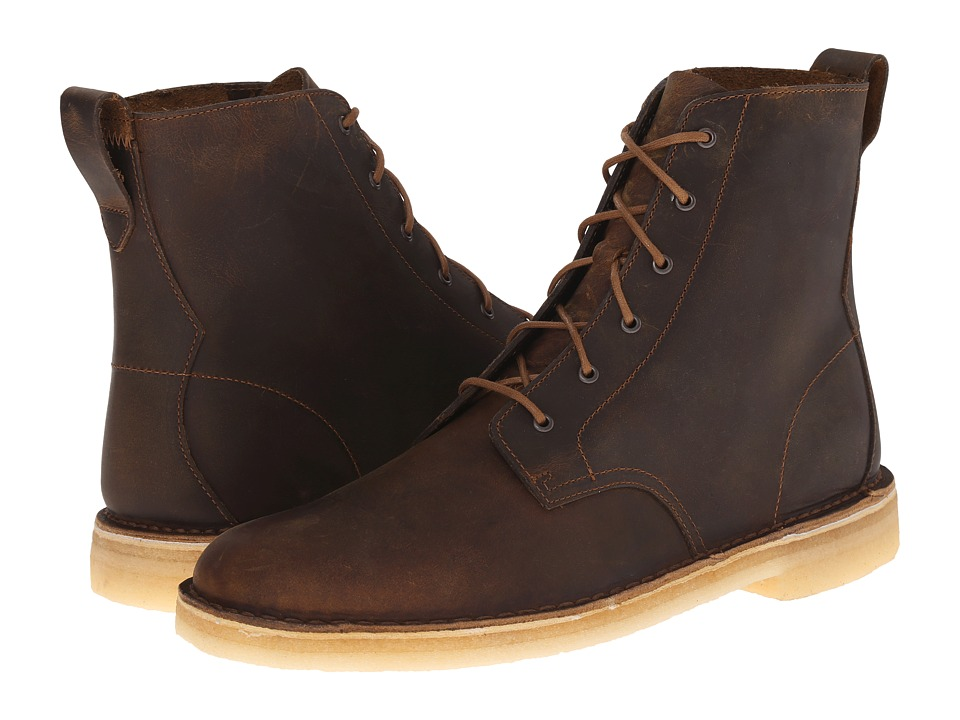 Clarks Desert Mali Boot (Beeswax) Men's Lace-up Boots