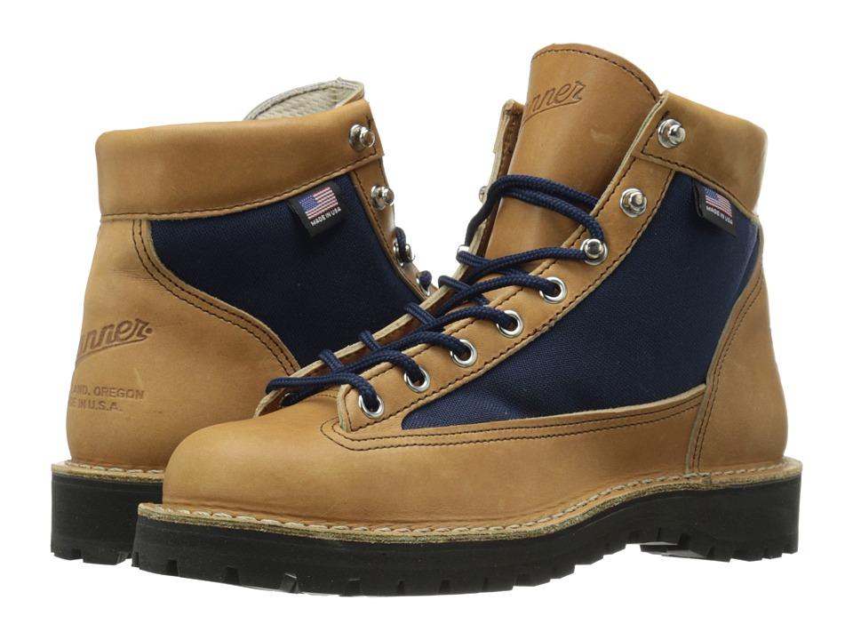 Danner Danner Light Cascade Brown/Blue Womens Work Boots