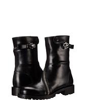 Alexander McQueen - Rider Calf Skull Zipper Boot
