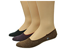 Sperry Top-Sider Skimmer Liners 3-Pack