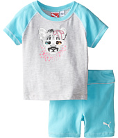 Puma Kids - Raglan Tee and Shorts Set (Infant)