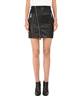 DSQUARED2 - Lelya Leather Mini Skirt