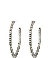 Gypsy SOULE - Mixed Metal Studded Hoop Earrings