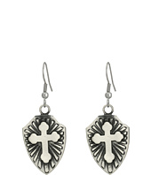 Gypsy SOULE - Cross Shield Earrings