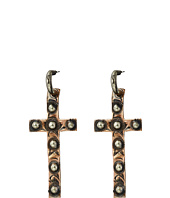 Gypsy SOULE - Studded Cross Earrings