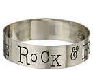 Gypsy SOULE Rock Roll Stole My Rebel Soule Bangle (Silver)