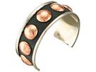 Gypsy SOULE Mixed Metal Stud Cuff Bracelet (Copper)