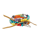 Gypsy SOULE Arrowhead Beaded Bracelet (Multi Color)