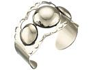 Gypsy SOULE Large Stud Metal Cuff Bracelet (Silver)
