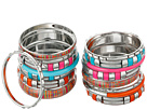 Gypsy SOULE 16 Bangle Set (Red/Orange/Pink/Turquoise)