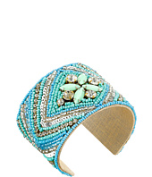 Gypsy SOULE - Stone Beaded Statement Cuff Bracelet