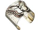Gypsy SOULE Soule Spirit Butterfly Silver Hammered Cuff Bracelet (Silver)
