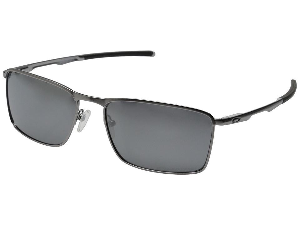 Oakley Conductor 6 (Lead w/Black Iridium Polarized) Sport...