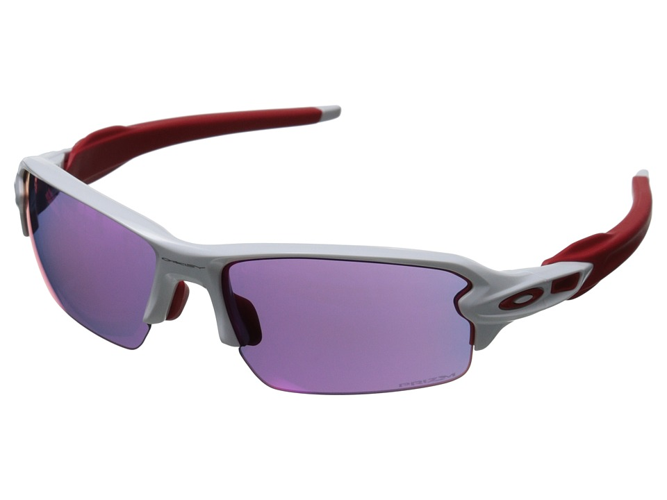 Oakley A Flak 2.0 Polished White w/Prizm Road Sport Sunglasses