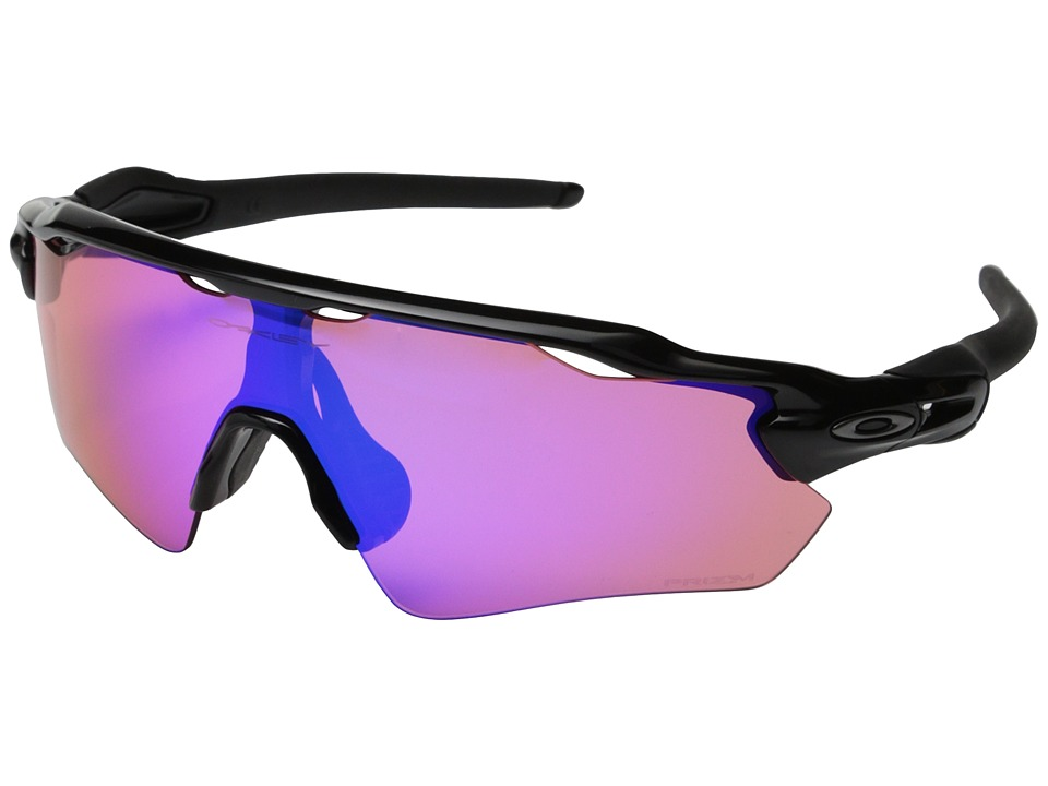 Oakley Radar EV (Polished Black w/Prizm Trail) Sport Sung...