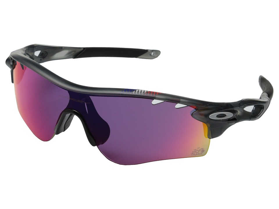Oakley Radarlock Grey Smoke w/Prizm Road Polarized Sport Sunglasses