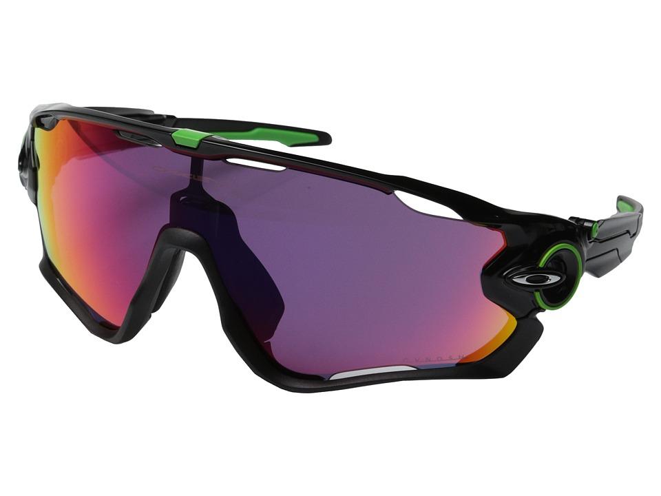 Oakley Jawbreaker (Polished Black w/Prizm Road) Sport Sun...