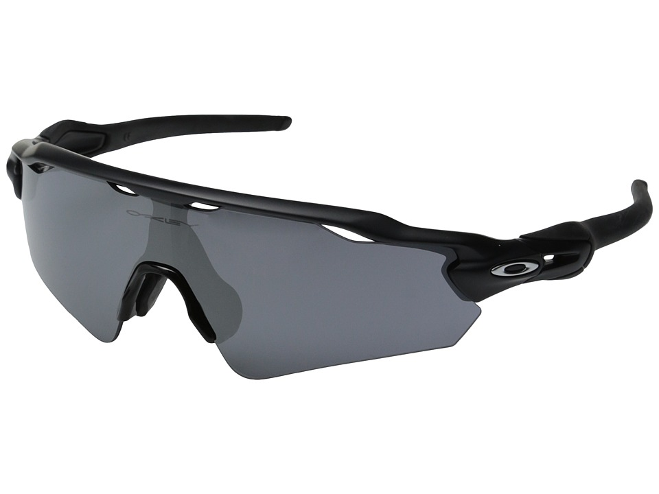 Oakley Radar EV Asian (Matte Black W/Black Iridium) Sport...