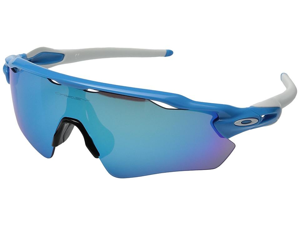 Oakley Radar EV (Sky w/Sapphire Iridium) Sport Sunglasses
