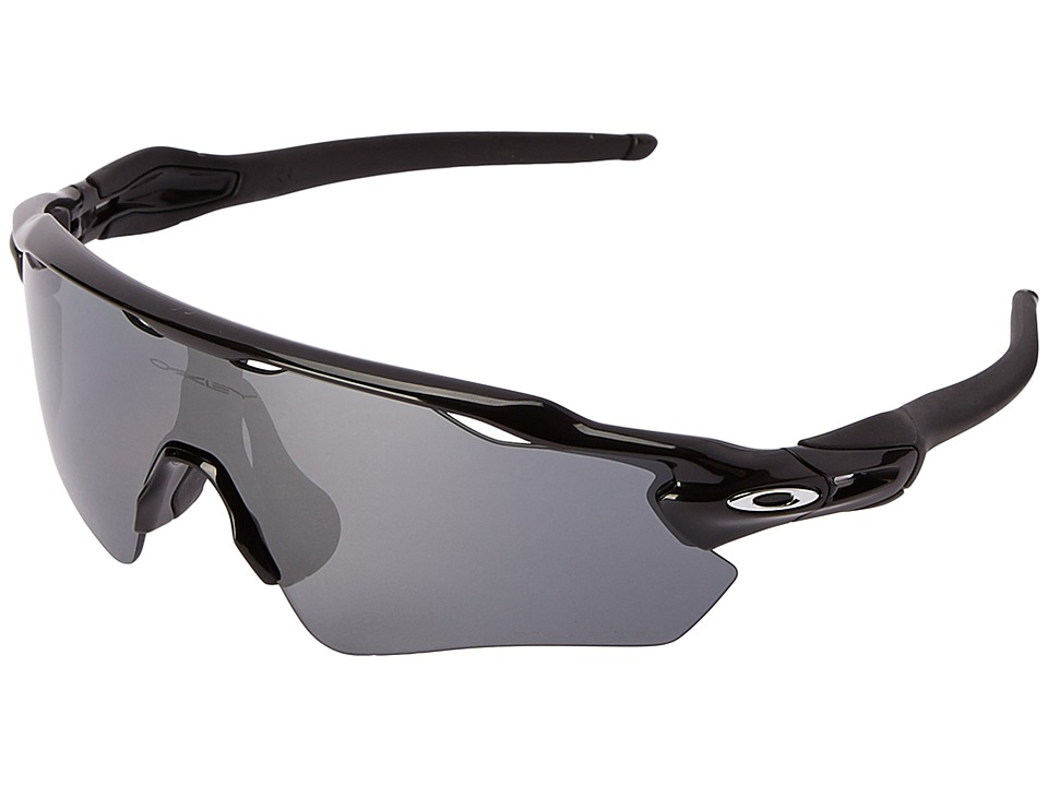 Oakley Radar EV (Polished Black w/Black Iridium Polarized...