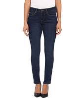Jag Jeans Petite - Petite Grant Mid Rise Slim in Blue Shadow