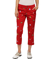Loudmouth Golf - Deck the Halls Capris