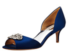 Badgley Mischka - Petrina (Navy Satin)