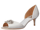 Badgley Mischka - Petrina (White Satin)