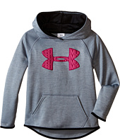 Under Armour Kids - UA Armour® Fleece Printed Big Logo Hoodie (Big Kids)